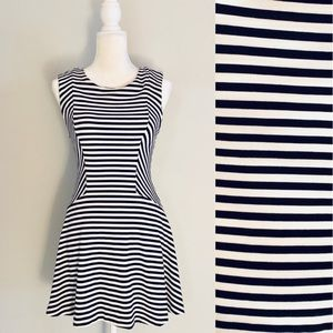 Free People • Black and White Striped Dress